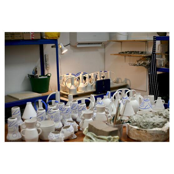 Ceramics studio of Sophie Alda