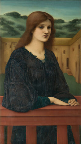 Edward Burne-Jones: Vespertina Quies