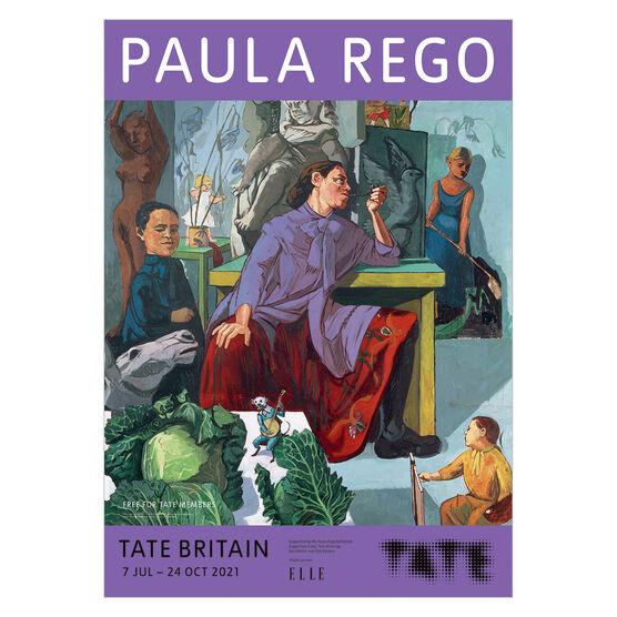 Paula Rego exhibition poster