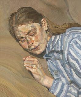 Lucian Freud: Girl in a Striped Nightshirt
