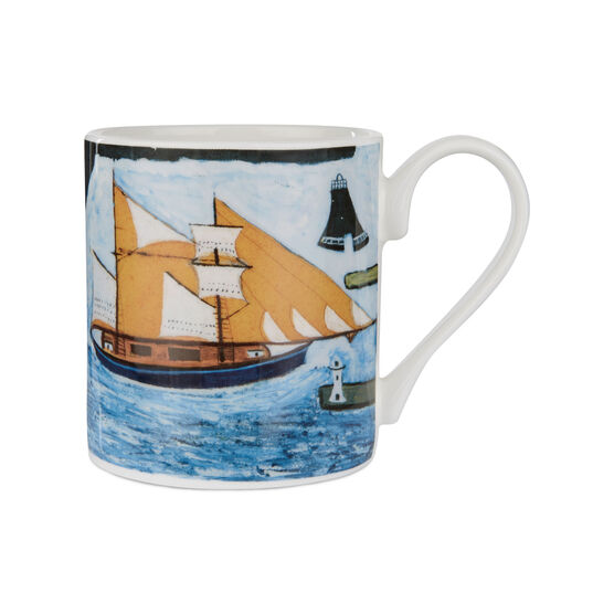 Alfred Wallis Blue Ship mug