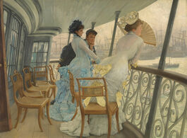 Tissot: The Gallery of HMS Calcutta