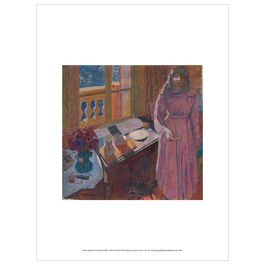 Pierre Bonnard: The Bowl of Milk exhibition print
