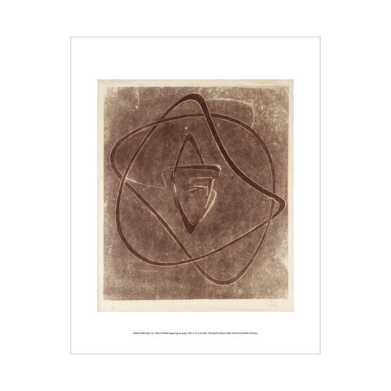 Naum Gabo: Opus 6 mini print