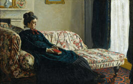 Monet: Meditation (Madame Monet on the Sofa)