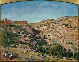 Thomas Seddon: Jerusalem & the Valley of Jehoshaphat