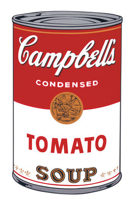 Andy Warhol: Campbell's Soup I: Tomato