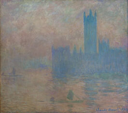 Monet: Houses of Parliament, Fog Effect