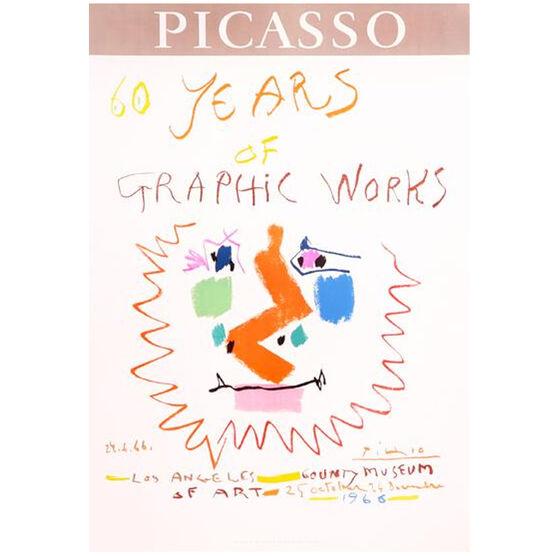 Atelier Mourlot Picasso 60 Years (original vintage print)