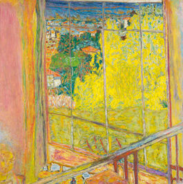 Pierre Bonnard: The Studio with Mimosa