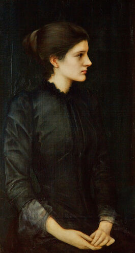 Edward Burne-Jones: Portrait of Amy Gaskell