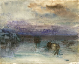 Turner: Venice, Moonlight on the Lagoon
