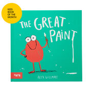 The Great Paint book kids book of the month