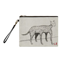 Louise Bourgeois Self Portrait cat clutch bag