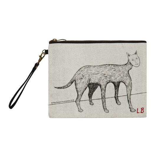 Louise Bourgeois Self Portrait cat clutch bag
