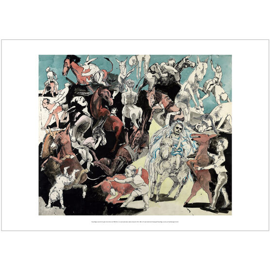 Paula Rego: Island of the Lights from Pinocchio poster