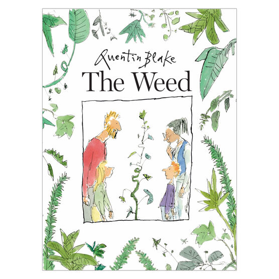 The Weed by Quentin Blake - cover