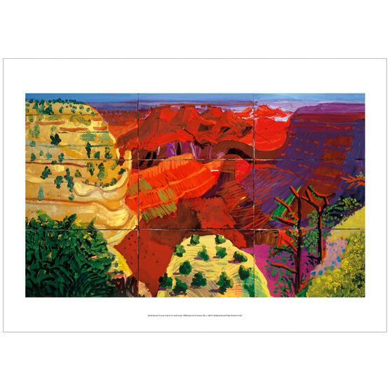 David Hockney The Grand Canyon (poster)