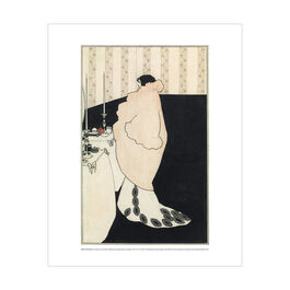 Aubrey Beardsley: La Dame aux Camélias mini print