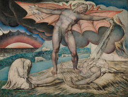 William Blake: Satan Smiting Job with Sore Boils