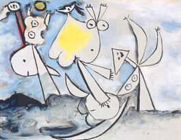 Pablo Picasso: Ball Players on the Beach