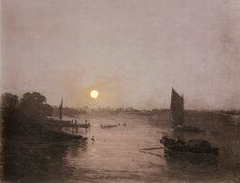 Turner: Moonlight, a Study at Millbank