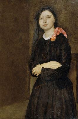John: Dorelia in a Black Dress