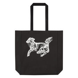 Pluto the dog tote bag