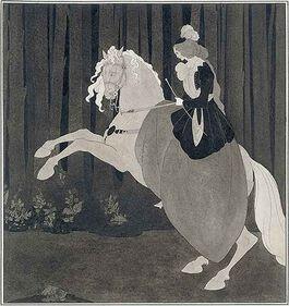 Beardsley: Frontispiece to Chopin's Third Ballade