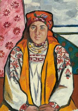 Goncharova: Peasant Woman from Tula Province