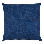 Metropolis cushion - blue
