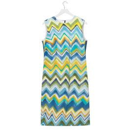 Lisa Milroy chevron Summer Collection dress