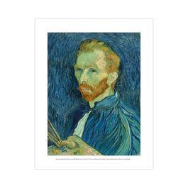 Vincent van Gogh: Self Portrait, autumn 1889 mini print