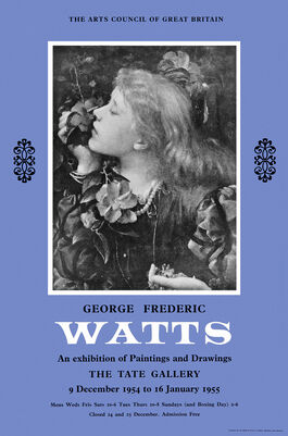 George Frederic Watts exhibition poster