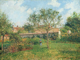 Pissarro: A Corner of the Meadow at Eragny