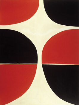 Sir Terry Frost: June, Red and Black