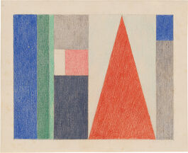 Sophie Taeuber-Arp: Large Triangle: Vertical-Horizontal Composition