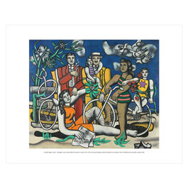 Fernand Léger: Leisure - Homage to Louis David mini print