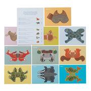 Cut out & make British animals kit