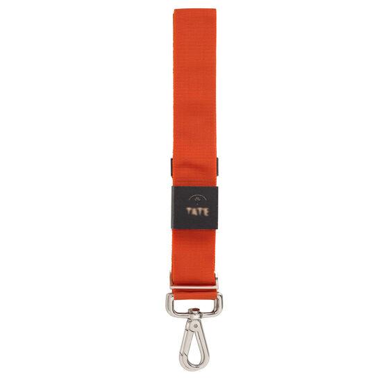 Tate vermilion Cambridge bag strap