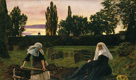 Millais: The Vale of Rest