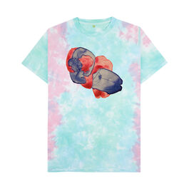 Ithell Colquhoun: Untitled tie-dye t-shirt