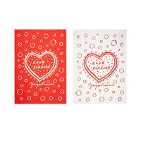 Yayoi Kusama Love Forever set of two tea towels