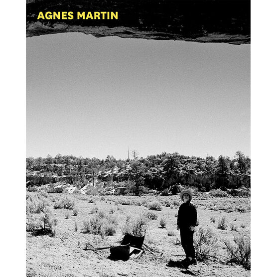 Agnes Martin exhibition book (paperback)