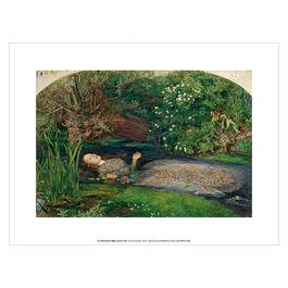 John Everett Millais Ophelia art print