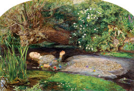 John Everett Millais: Ophelia