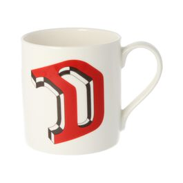 Alphabet of art mug - D