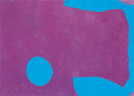 Patrick Heron: Dark Purple and Ceruleum