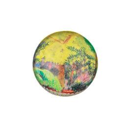 Bonnard Violet Fence paperweight