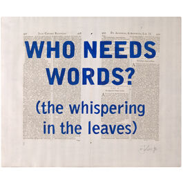 William Kentridge, Blue Rubrics (WHO NEEDS WORDS), 2018